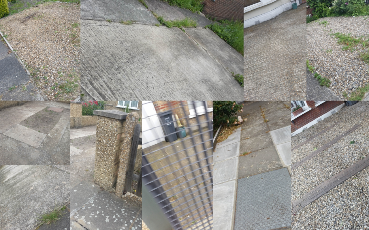 Front Garden Concrete - Just one street
