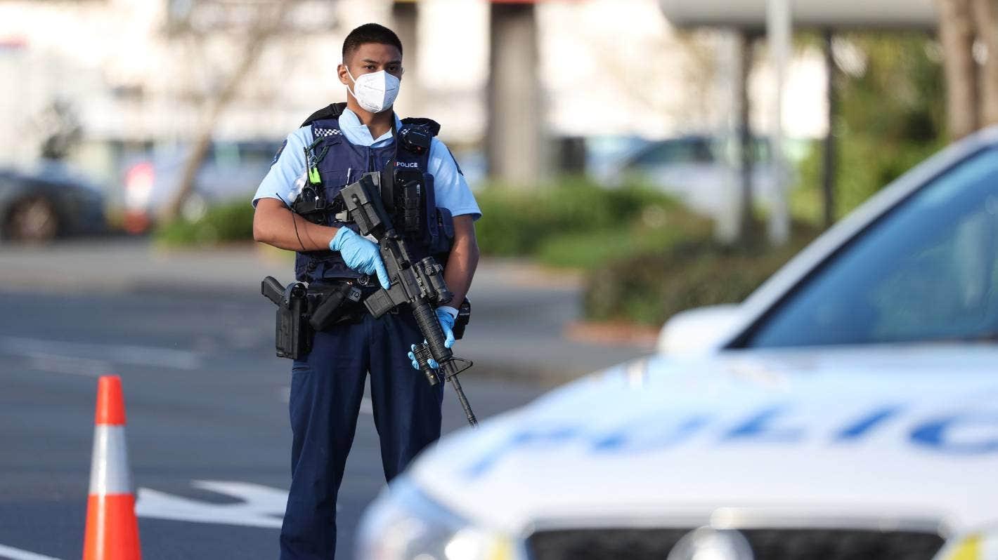 Terror attack in Auckland