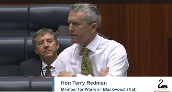 Redman_calls_for_chopper_funding_in_Parliament.JPG