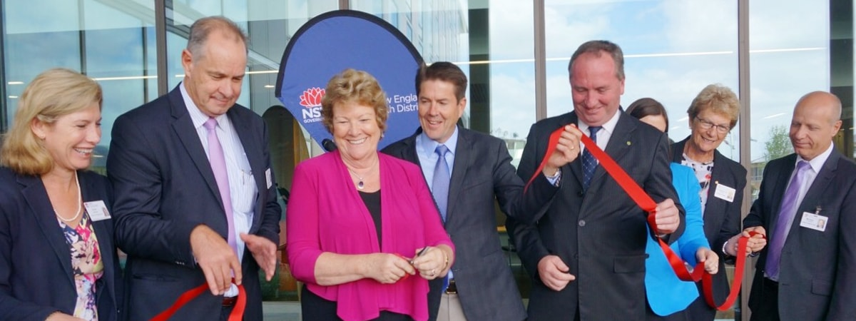 $211 million Tamworth Hospital officially opened