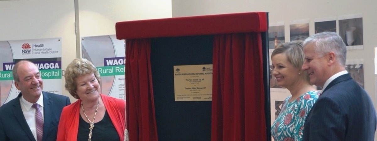 Wagga Wagga Hospital officially opened