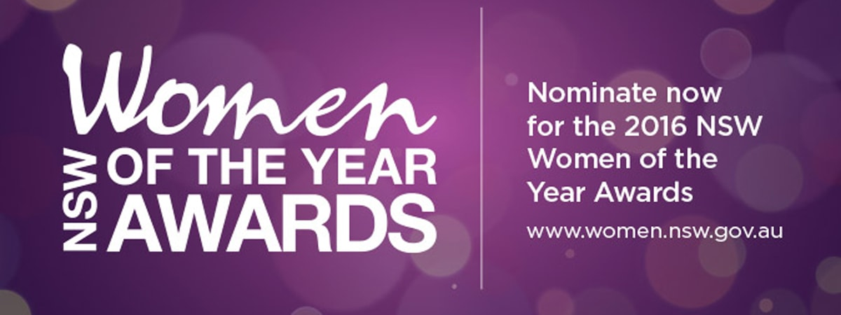 Nominate a Woman of the Year