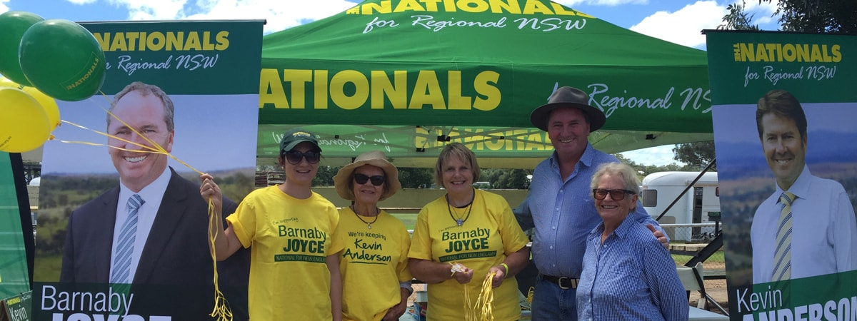 Nationals attend 87th Annual Manilla Show