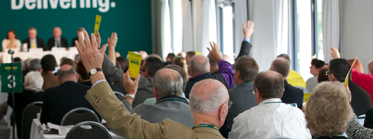 Have your say on Party policy