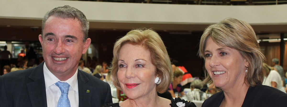 Ita Buttrose packs the house in Page