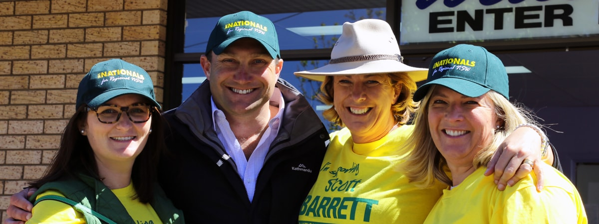 Last chance to get behind Barrett!