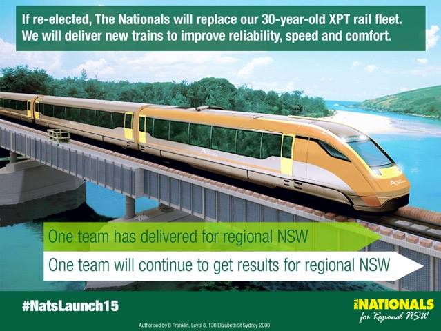 New Trains For Regional NSW