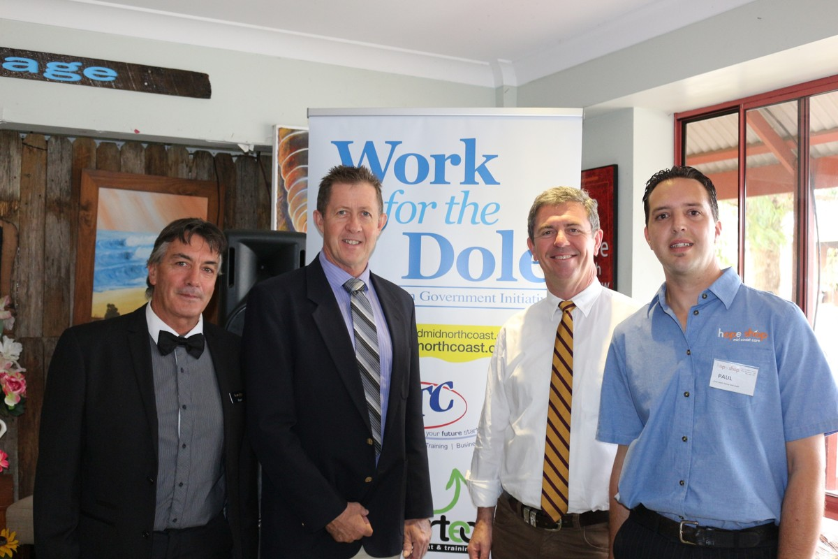 Ramp up of Work for the Dole on the Mid North Coast
