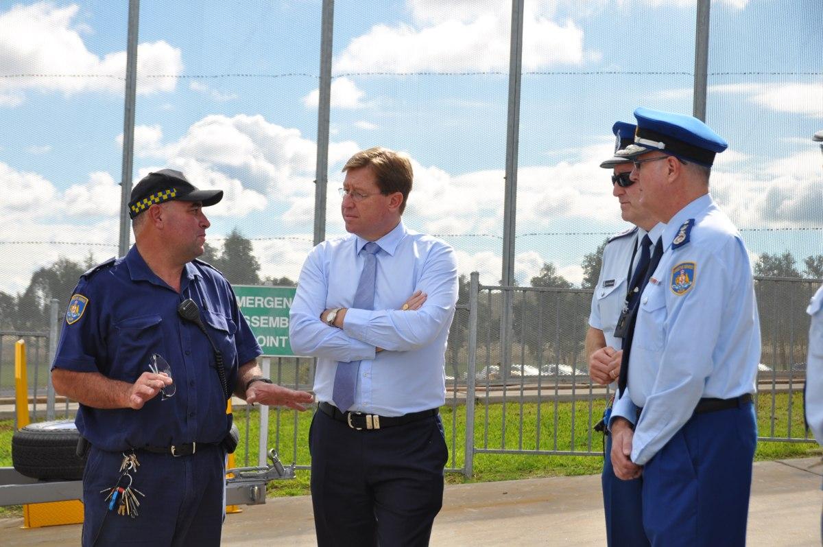Deputy Premier tours Wellington's working prison