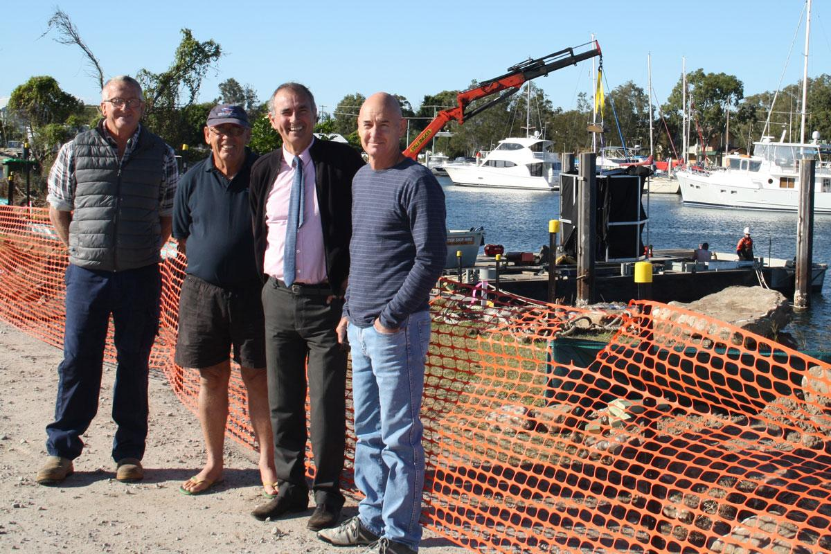 Major upgrades for Yamba boat harbour & Clarence River