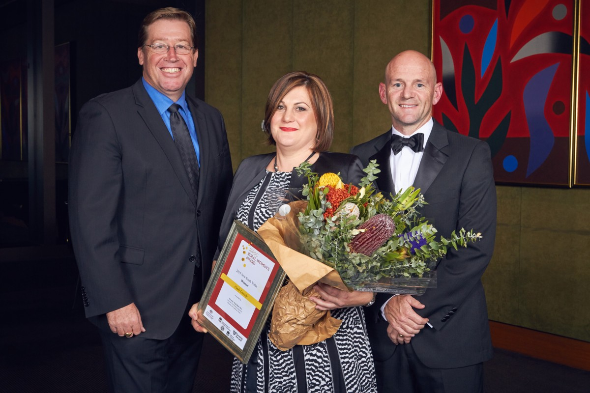 Cindy Cassidy announced as 2015 Rural Women's award winner