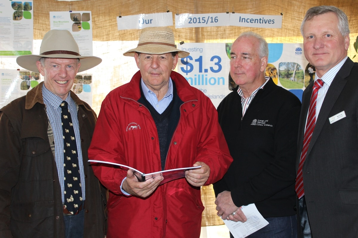 Central Tablelands Local Land Services launch 2015 Funding and Grants Program