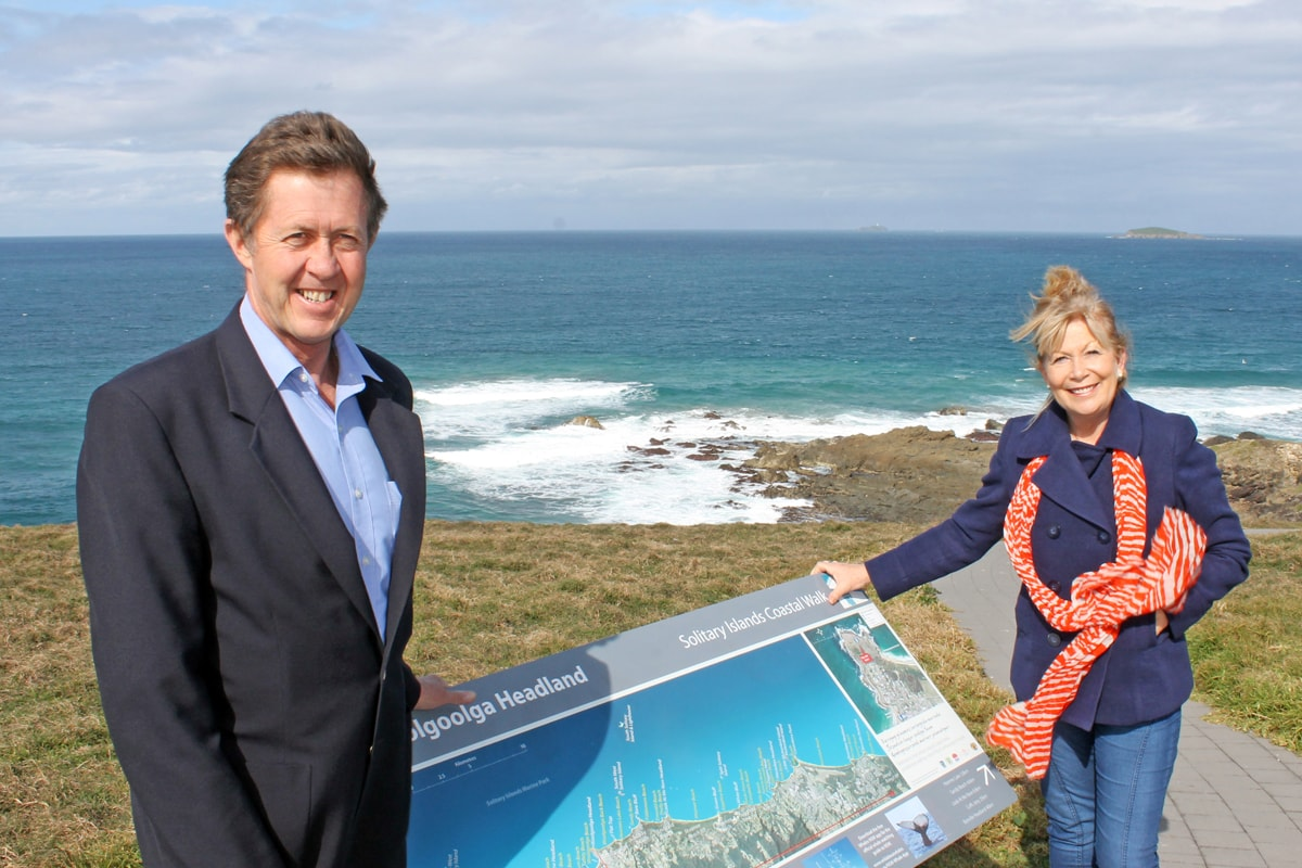 Whale Trail Grant for spectacular Woolgoolga Walk