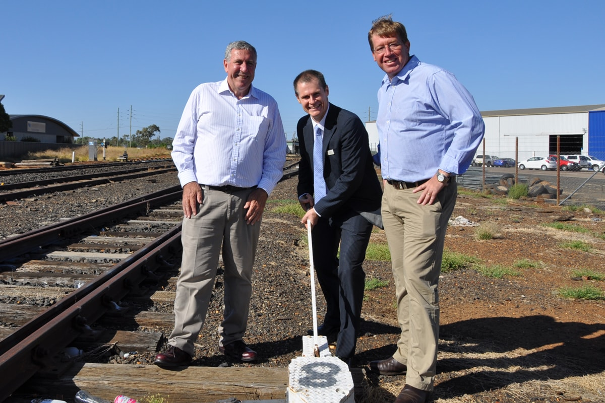 $1.66 million Dubbo Rail Triangle upgrade completed