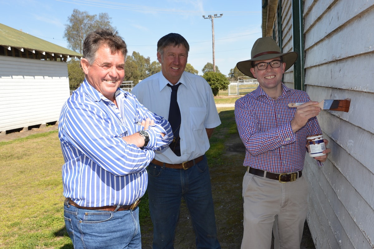Another 'lick' of funding for Warialda Showground