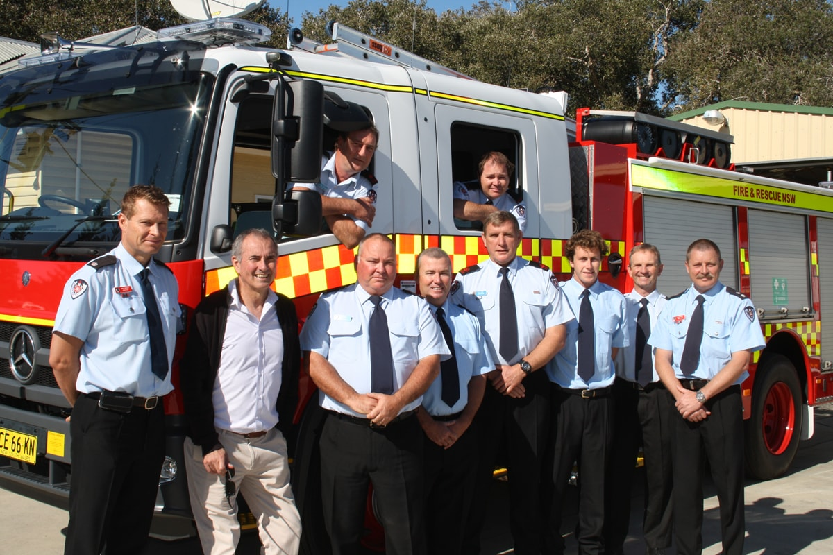 New fire truck for Yamba