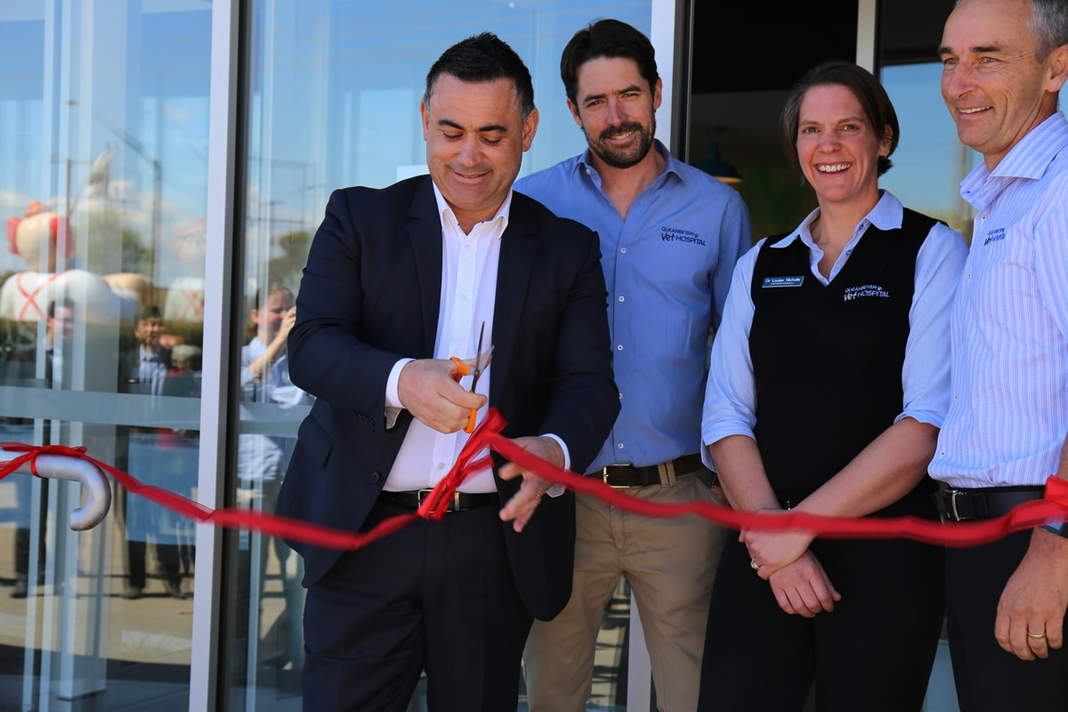 New look Vet opened by Small Business Minister