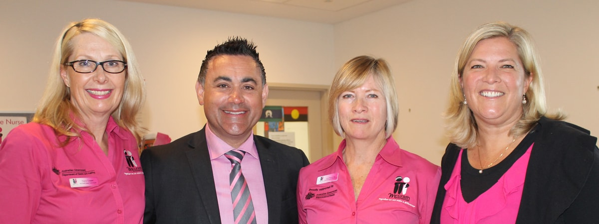 Raising breast cancer awareness on Pink Ribbon Day