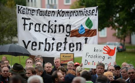 Germany Proposes Ban on Fracking