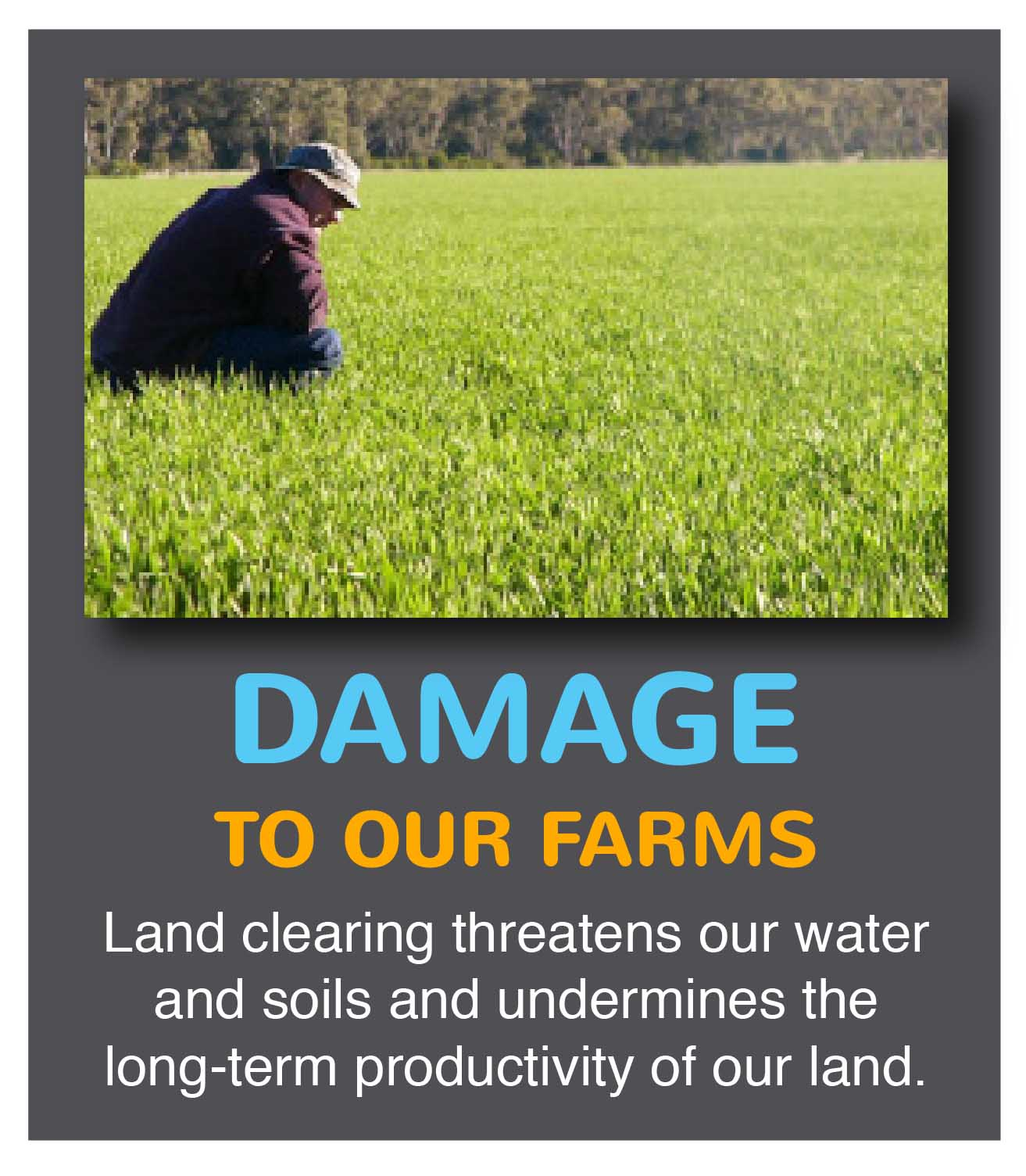 THE RISKS FOR OUR FARMS