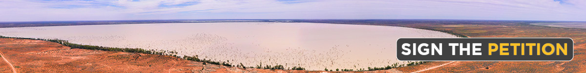 Sign the Petition to Save Menindee Lakes
