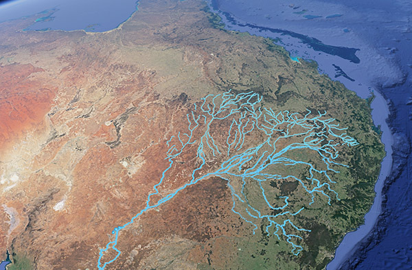Darling River tributaries