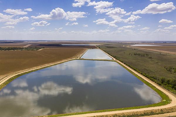 Irrigation dams - Wee Waa