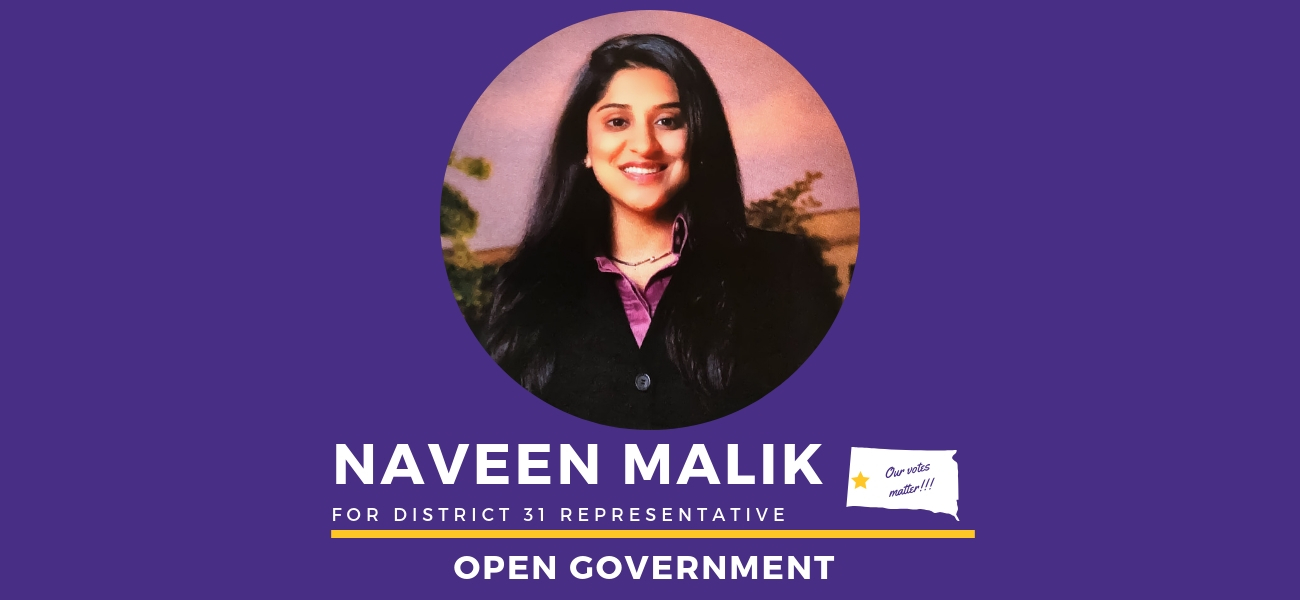 Naveen Malik South Dakota Open Government Open Government