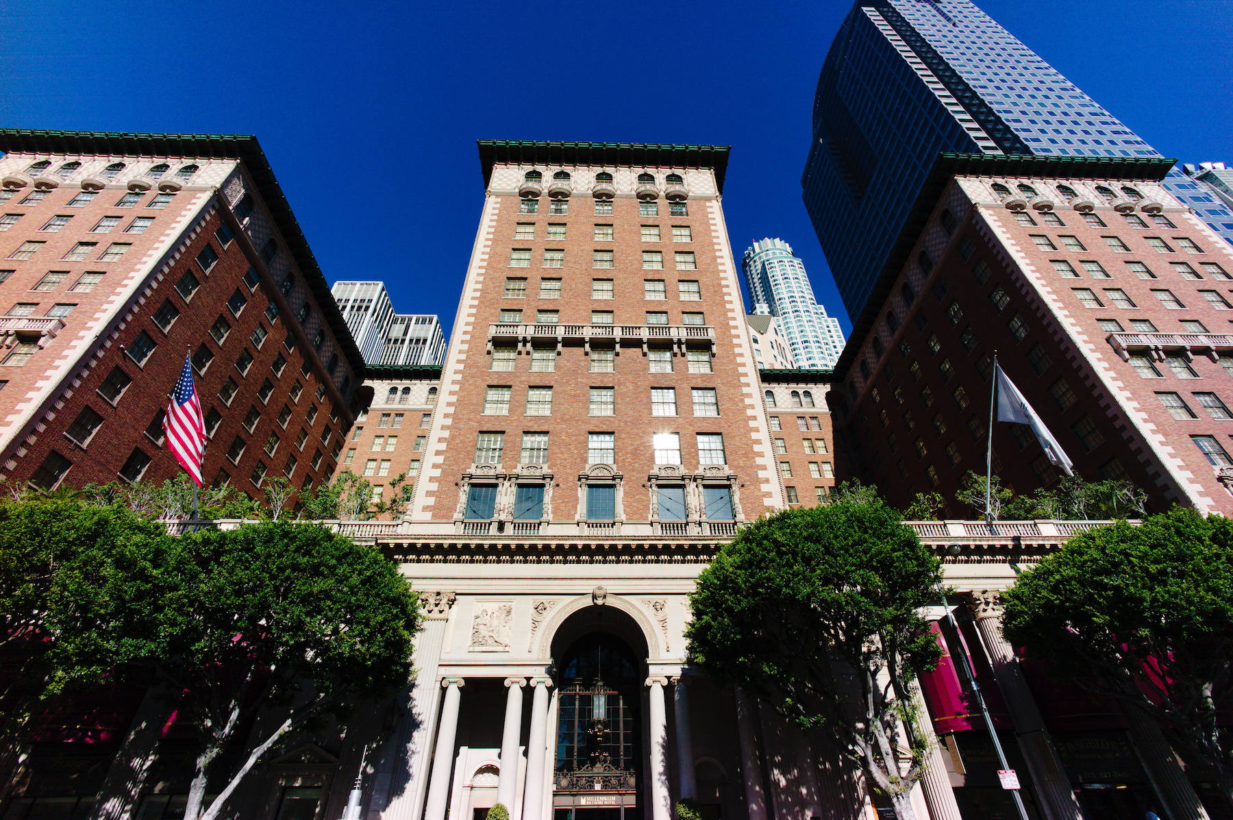 HQ in the historic Biltmore Hotel in Downtown Los Angeles