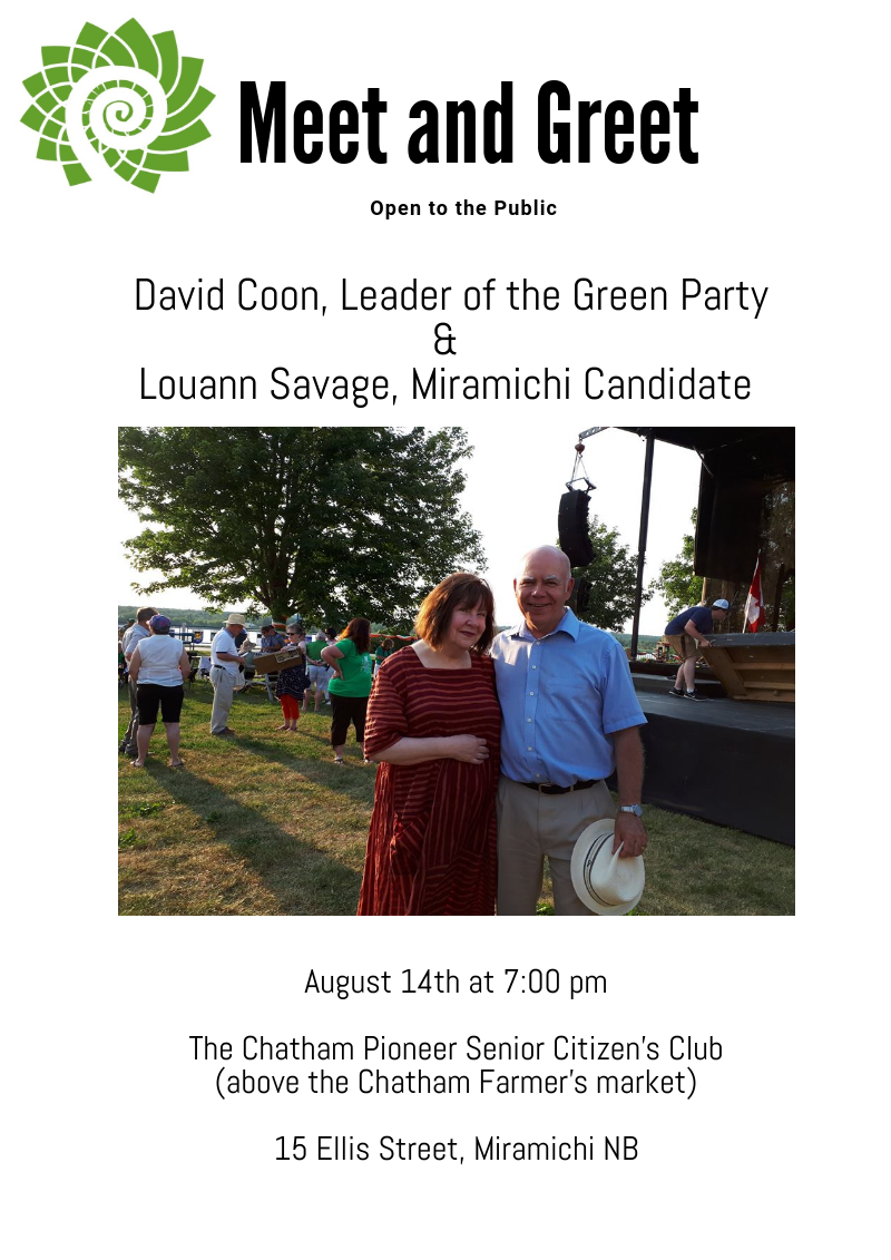 Events Parti Vert Nb Green Party