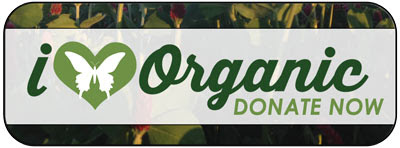 I heart organic- donate now!