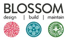 Blossom Landscaping Logo