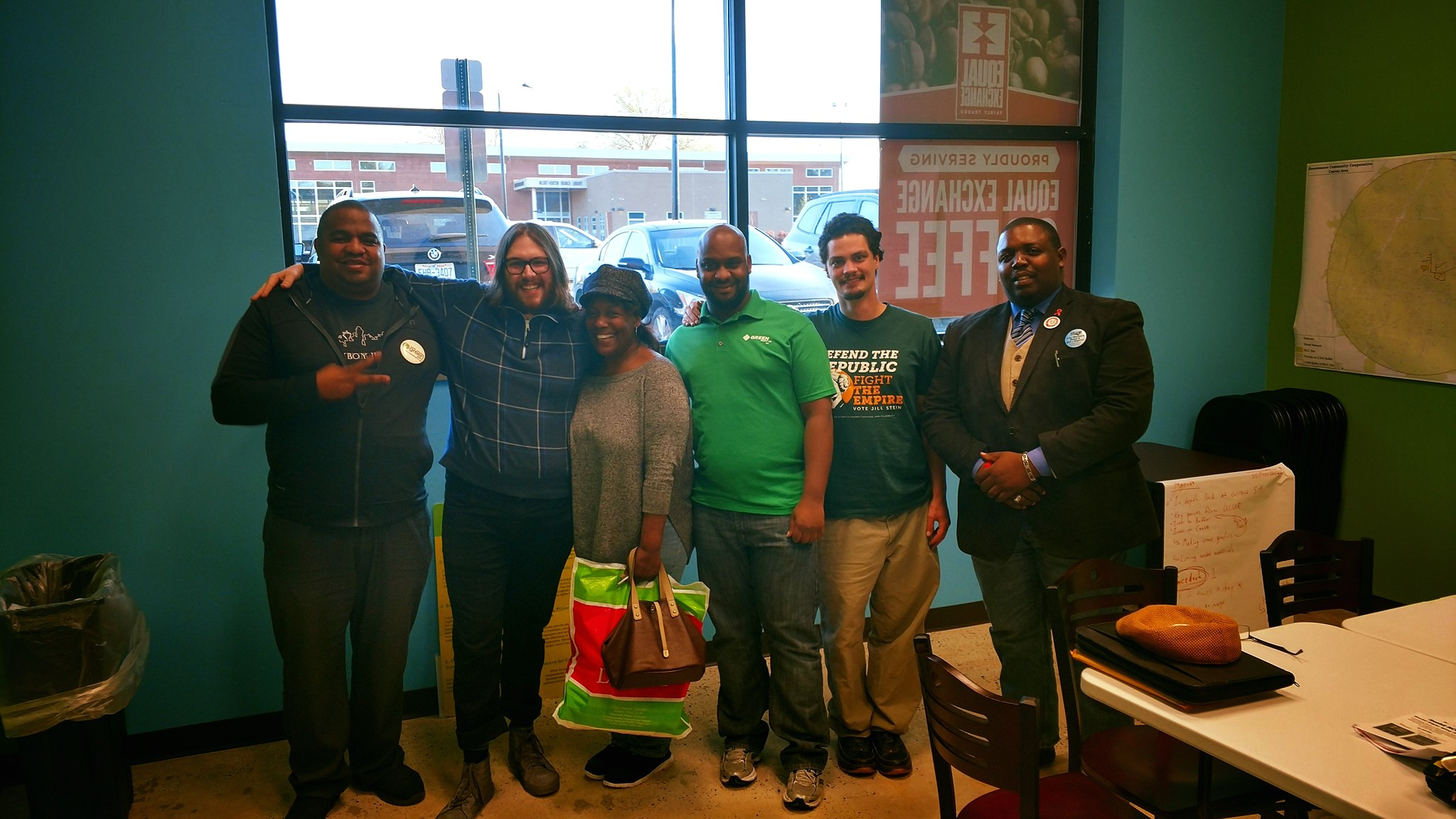 Triad Green Party members
