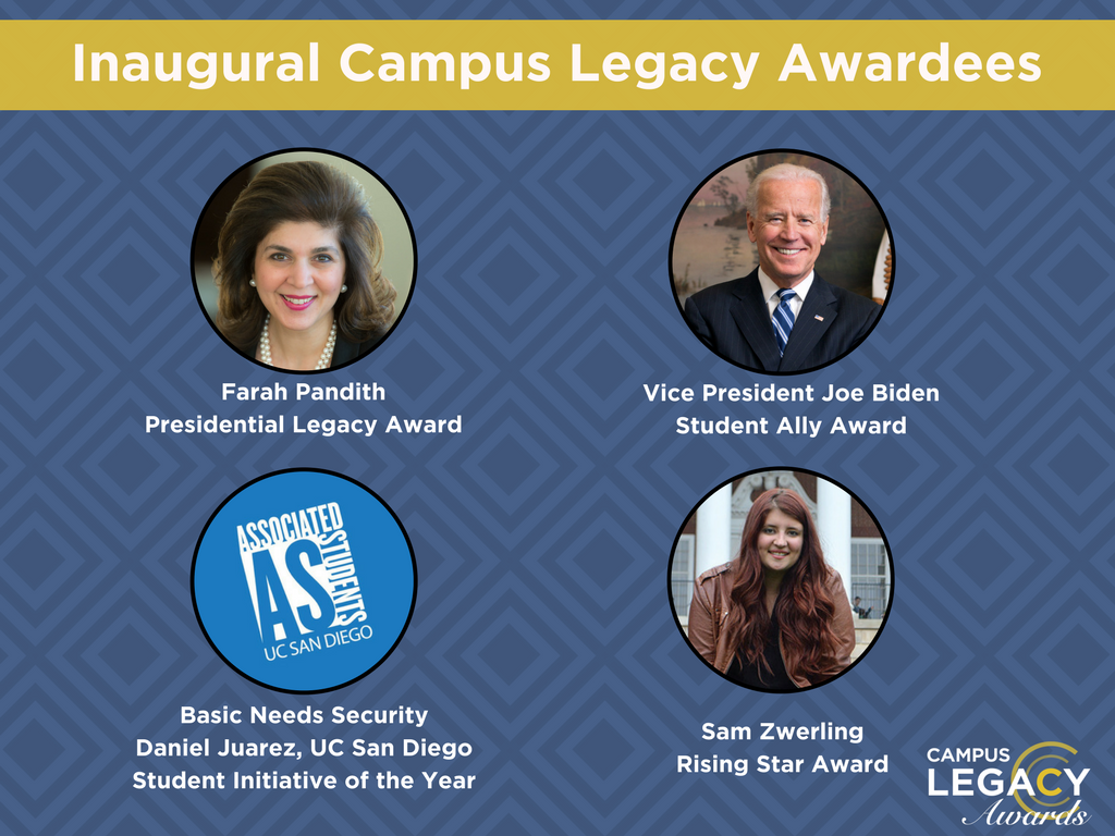 2017 Campus Legacy Awardees