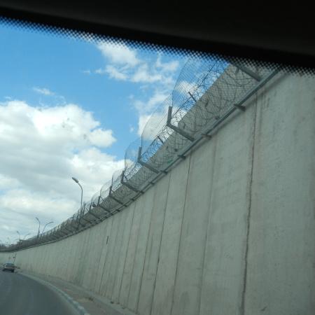 Image of apartheid wall