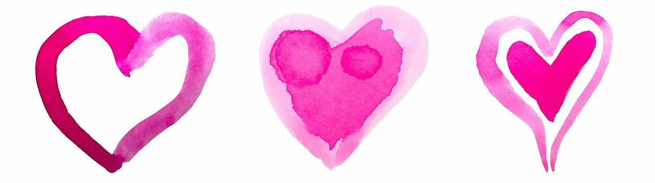 Hearts horizontal