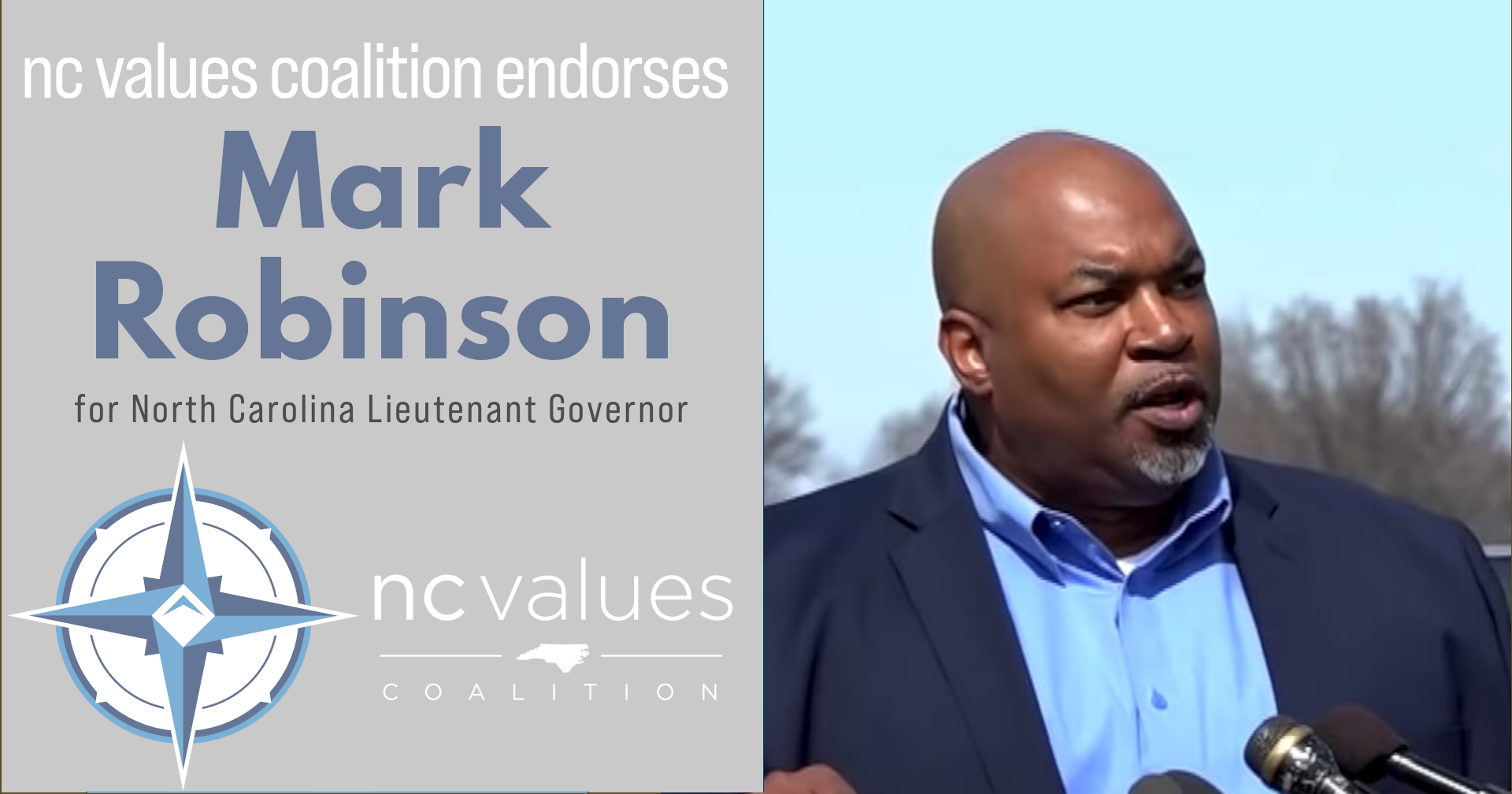 Mark Robinson for Lt Governor