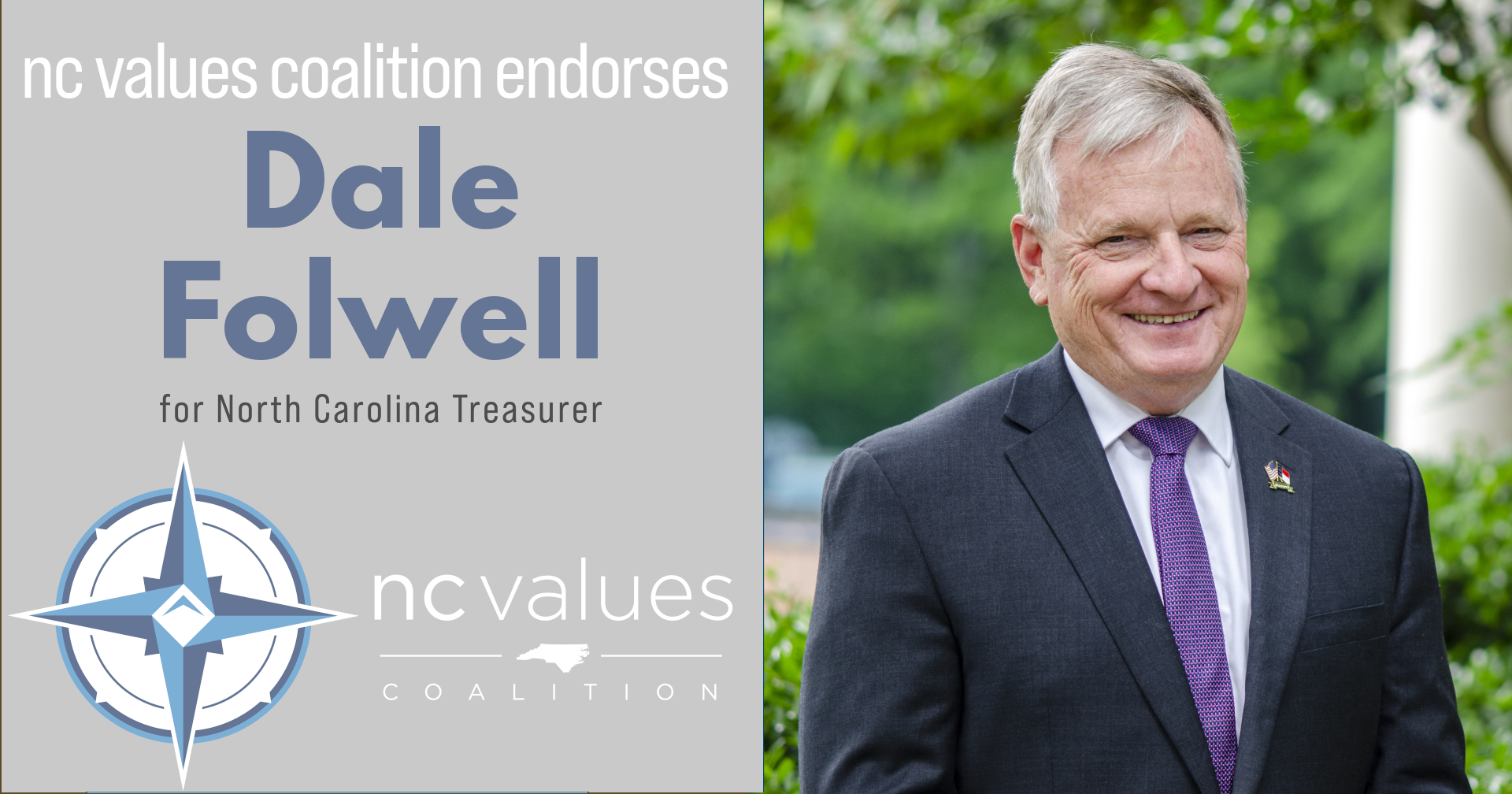 Dale Folwell for State Treasurer
