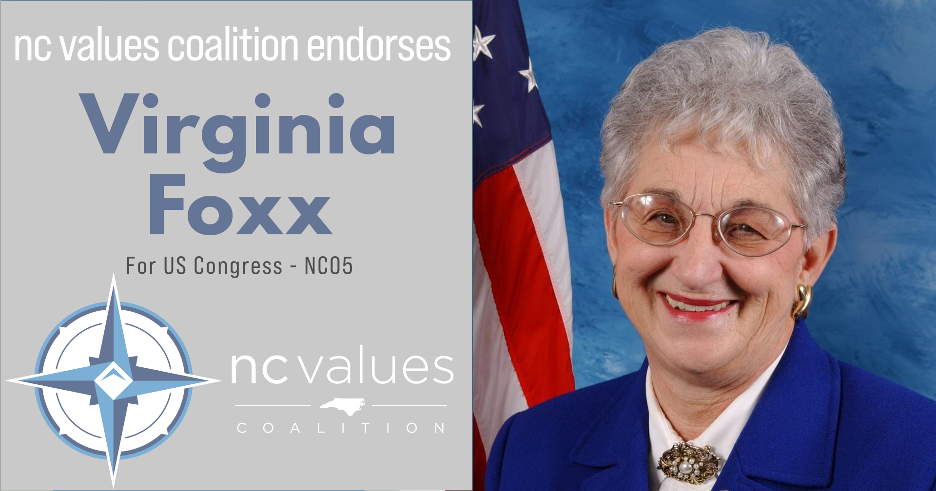 Virginia Fox for Congress in NC05