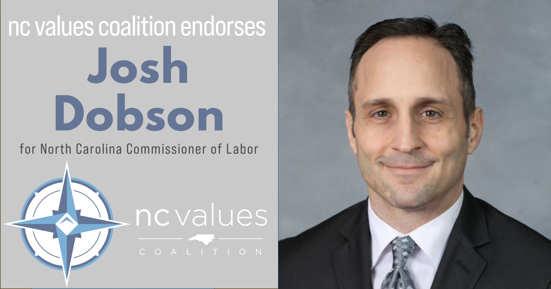 Josh Dobson Commissioner of Labor