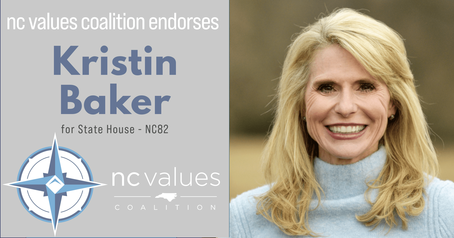 Kristin Baker for NC State House
