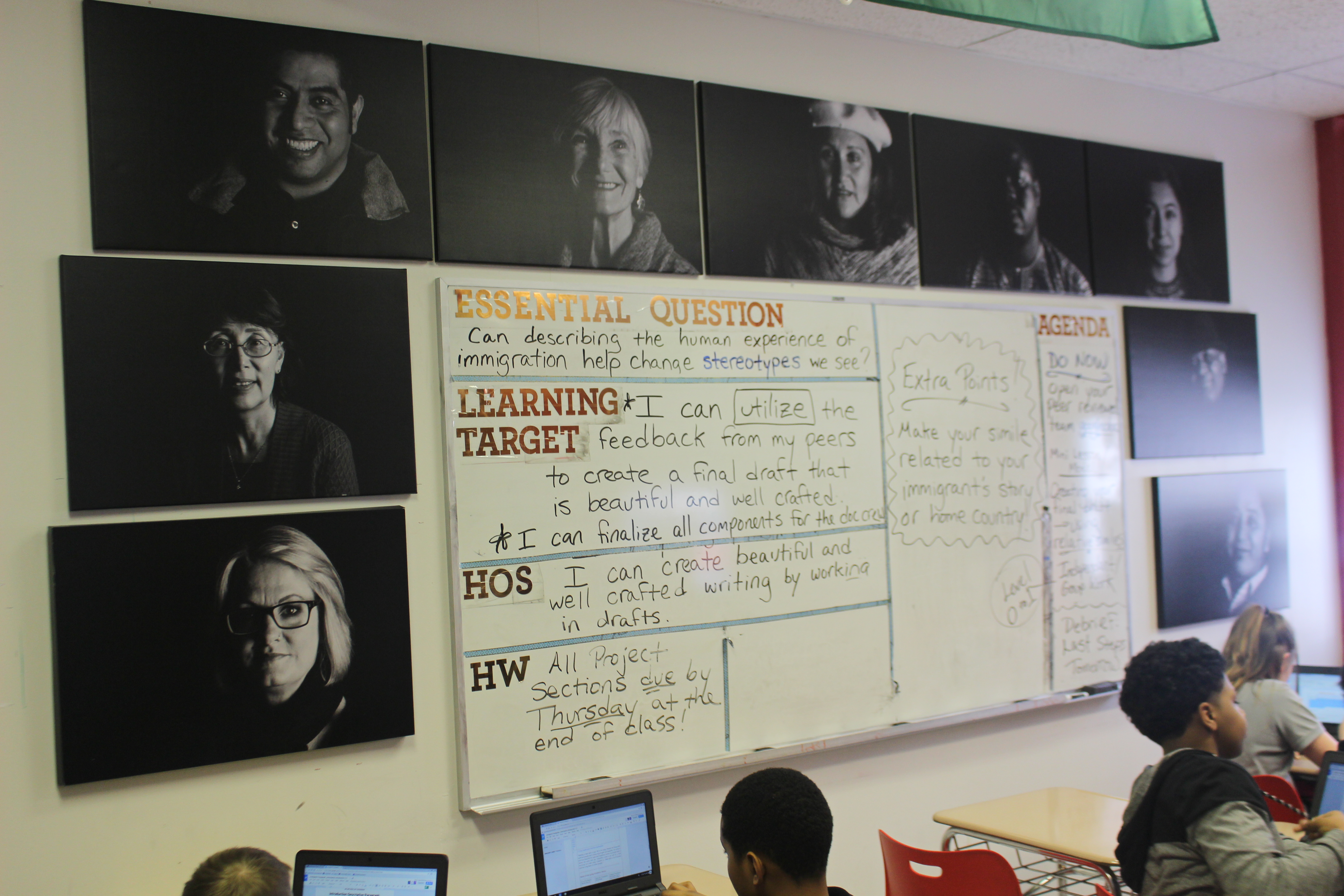 ISAAC students humanize the immigrant label through