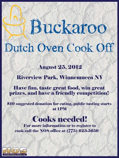 flier: Dutch-oven cook-off