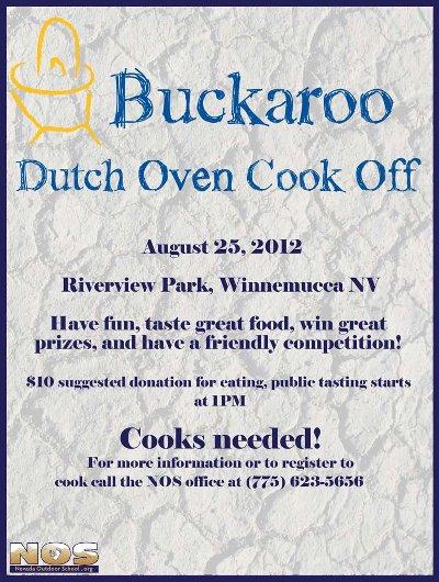 flier: Dutch-oven cook-off