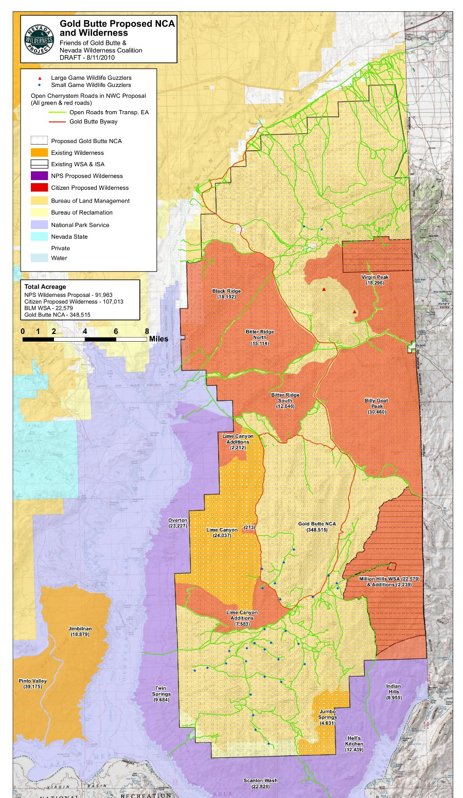 Legislation Preserving Fossilrich Area North Of Las Vegas