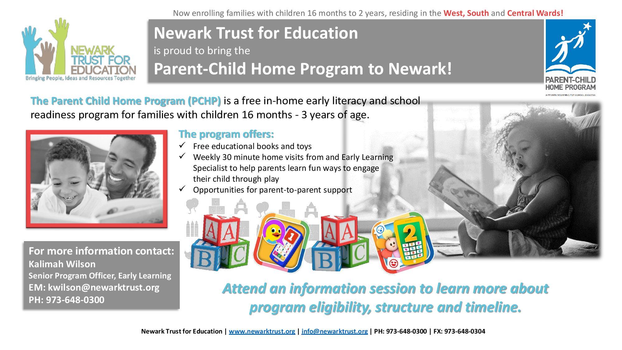 Parent-Child Home Program - The Newark Trust for Education