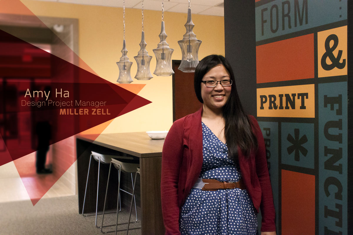 Amy Ha, Project Manager, Miller Zell
