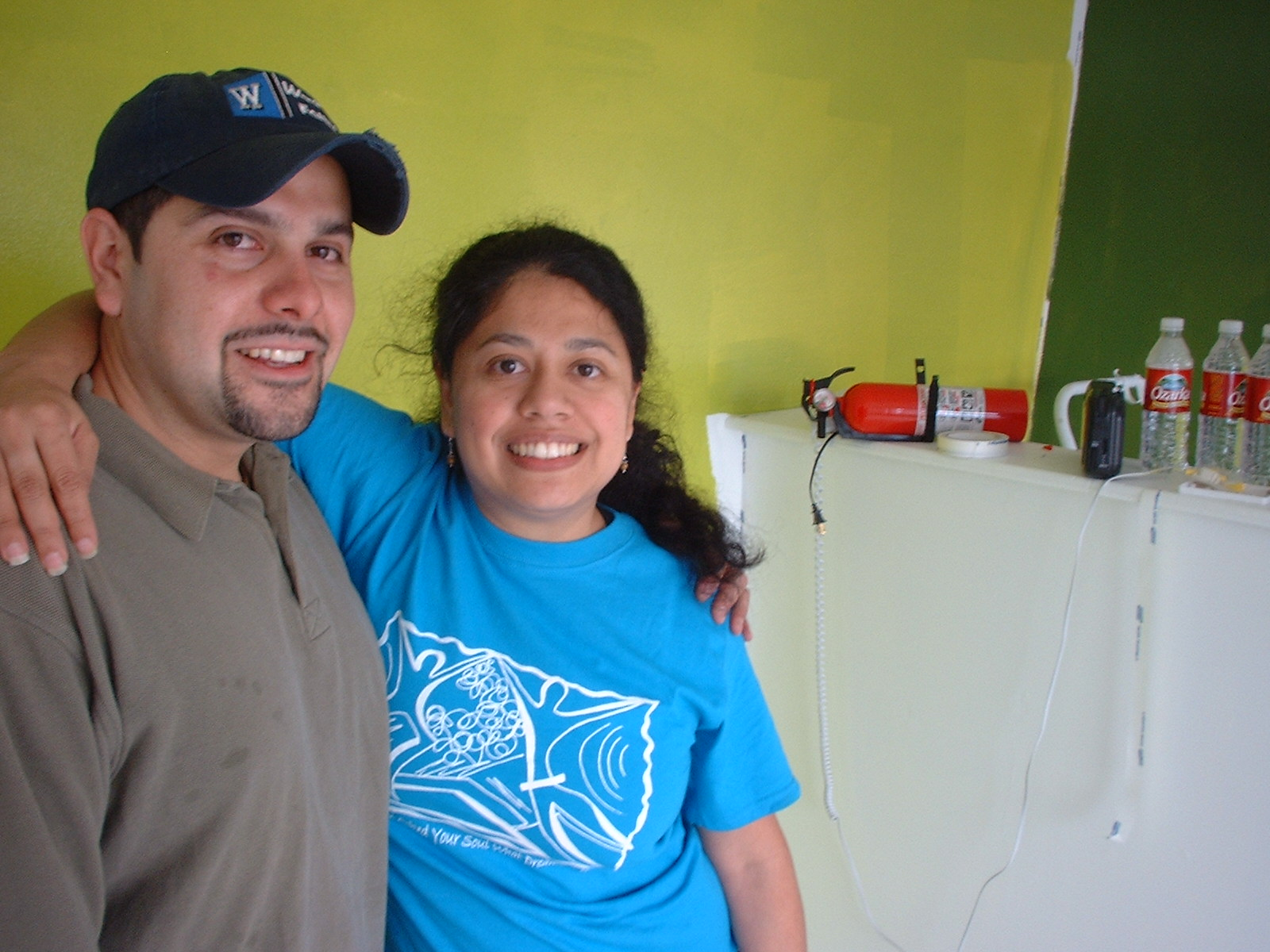 Brother and sister team Marcos Gutierrez and Sonia Gutierrez