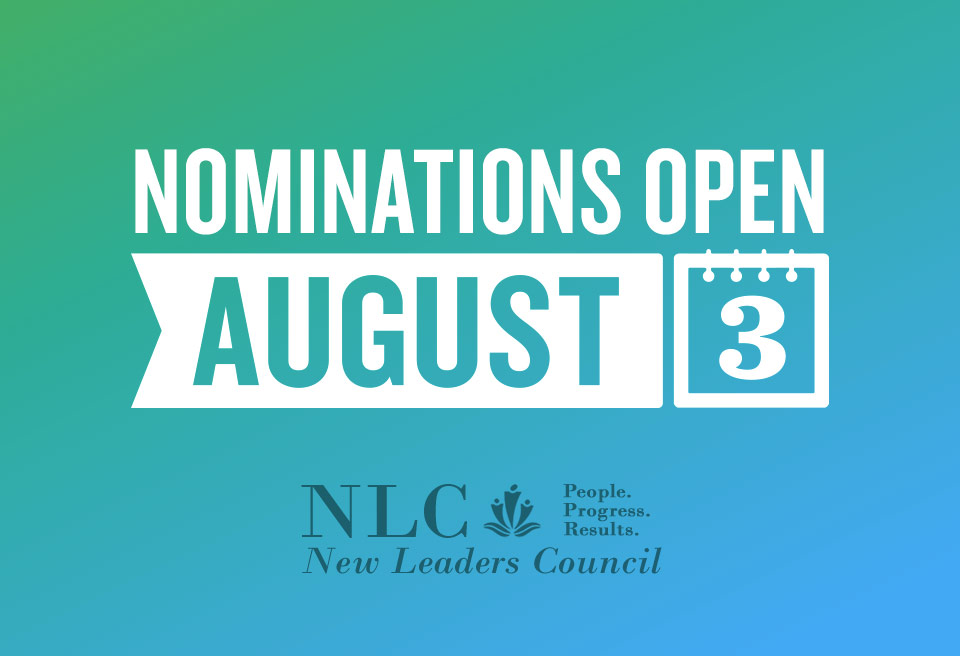 Nominations and applications are due November 1