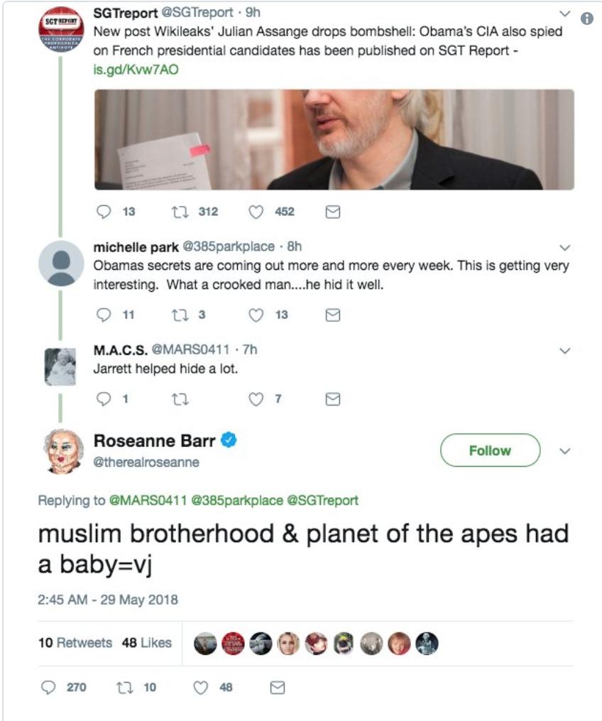 Fox Host Faulkner Defends Roseanne Barr's Racist Tweet As ... - photo#8